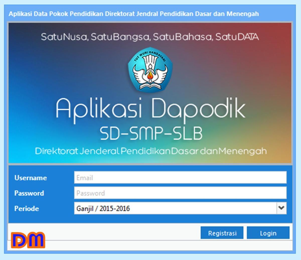 Kirim / Sinkronisasi PMP Dapodik - TENDY DEVELOPER