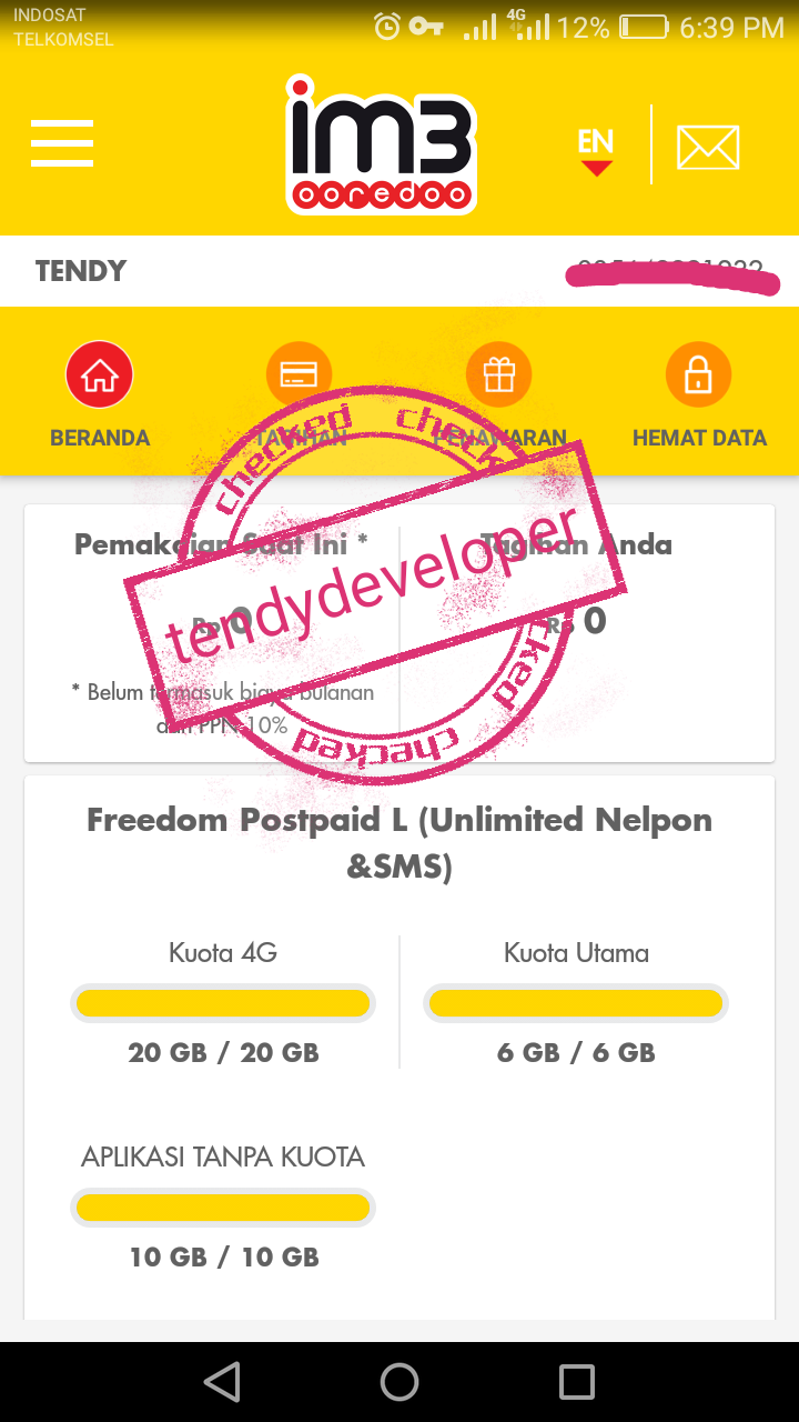 Migrasi Ke Indosat Pascabayar Worth It Tendy Developer
